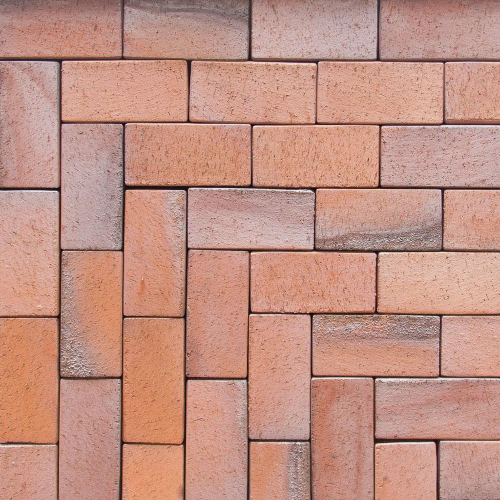 Pflasterklinker rot bunt kohlebrand pk740 klinker for Steine streichen