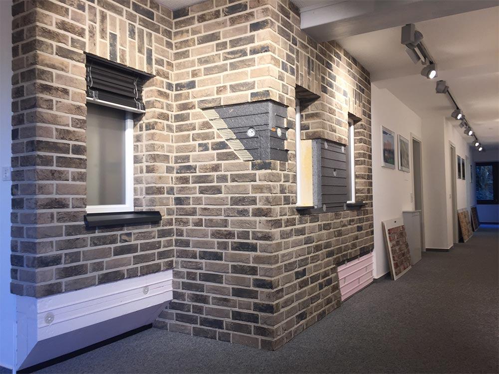 Klinker Zentrale Showroom in Reichshof Erdingen