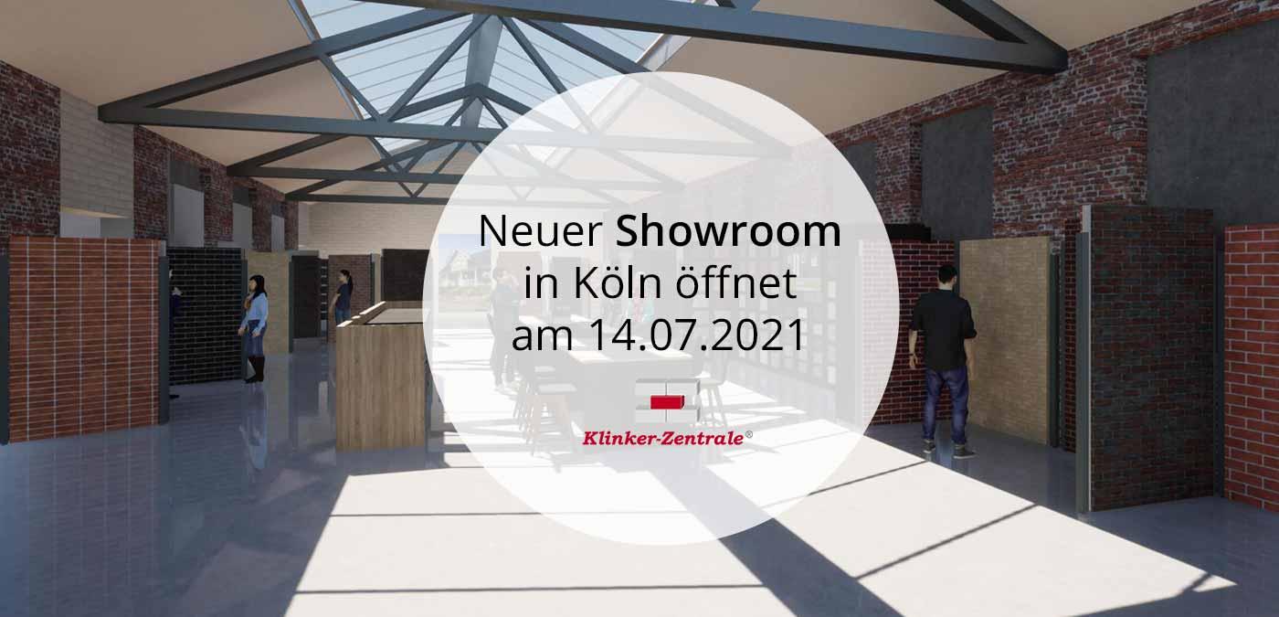 Klinker Zentrale Showroom in Köln
